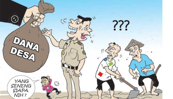 Korupsi Dana Desa Rp400 Juta, Kades di Rohil Ditahan