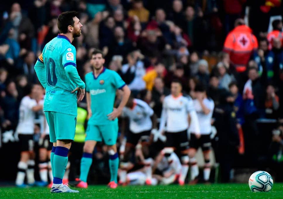La Liga : Messi Bermain Buruk, Barcelona Kehilangan Poin