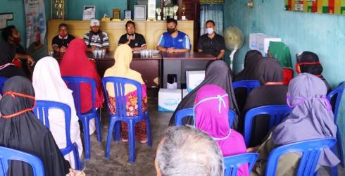 Kolaborasi Rumah Yatim Dengan Karang Taruna Ceria Bantu Korban Banjir Pekanbaru