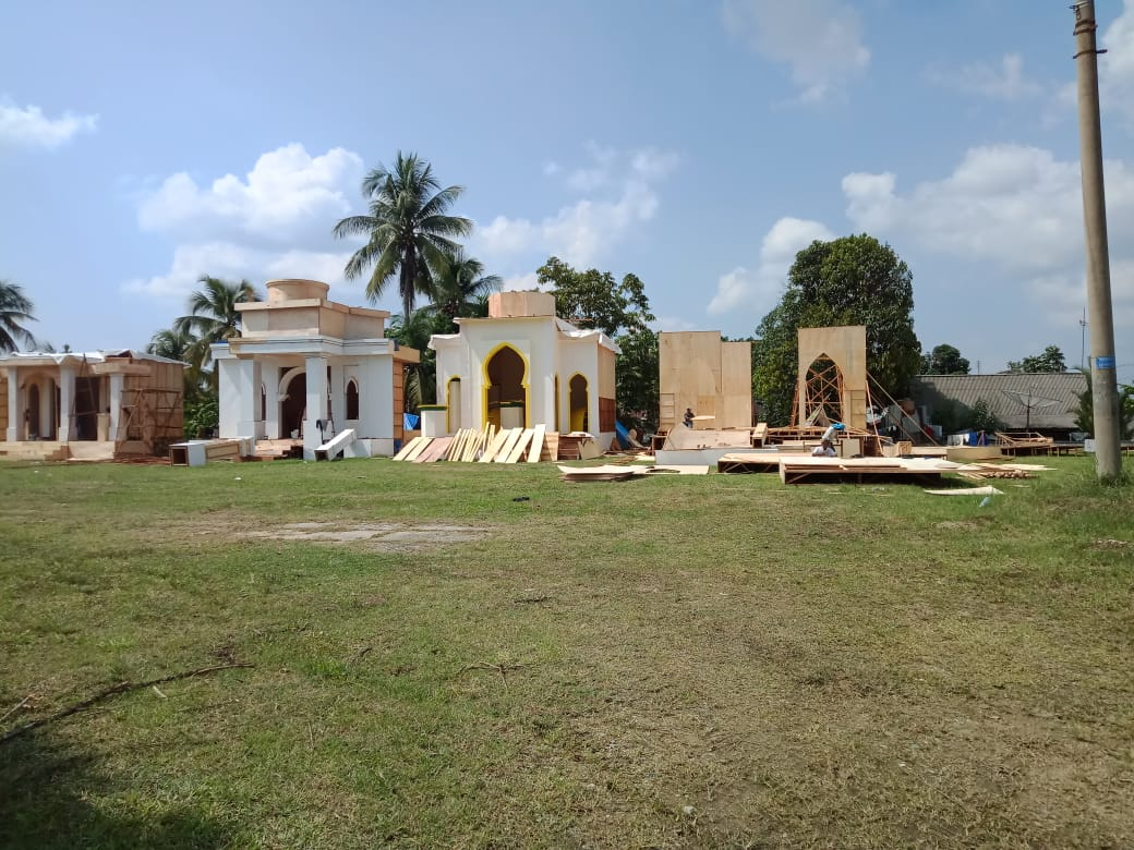 "Kesiapan MTQ Riau di Kabupaten Kampar ""Dipertanyakan"", Astaka Roboh"