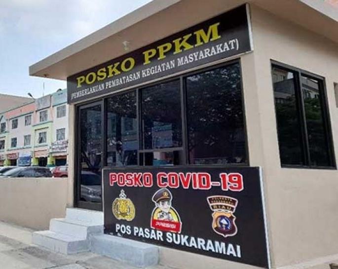 Pekanbaru Perpanjang PPKM Mikro, Polisi Optimalkan Penyekatan Jalan