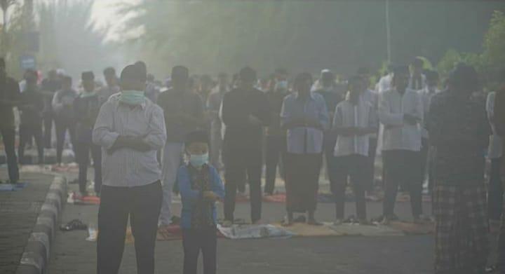 Idul Adha Di Selimuti Asap. Riau Memang Paling Beda