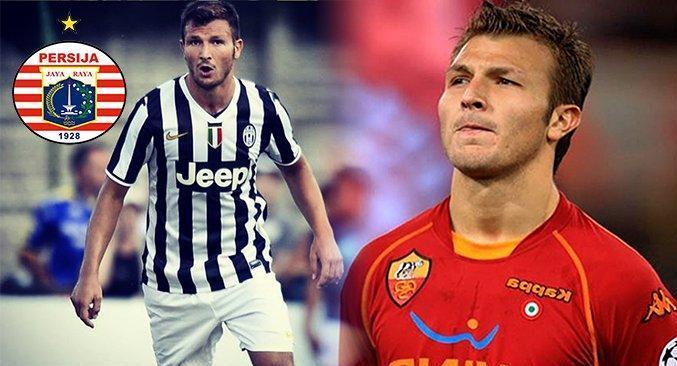 Eks Pemain Juventus dan AS Roma Resmi ke Persija Jakarta