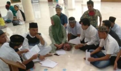 Lima Remaja Pengeroyok Marbot Masjid Al-Saleh Palembang Sepakat Damai
