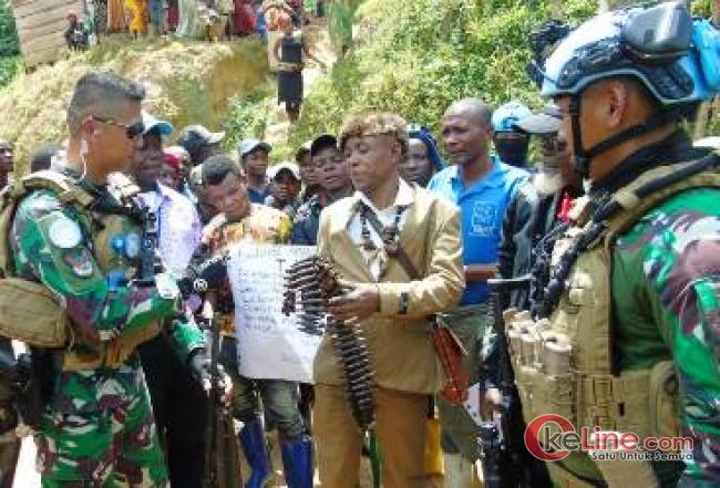 Lagi, Kontingen Garuda Torehkan Prestasi, Ketua Milisi Kelompok Bersenjata di Kongo Takluk