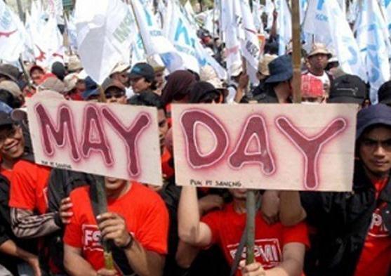 May Day, 600 Massa SBSI Akan Long March di Pekanbaru