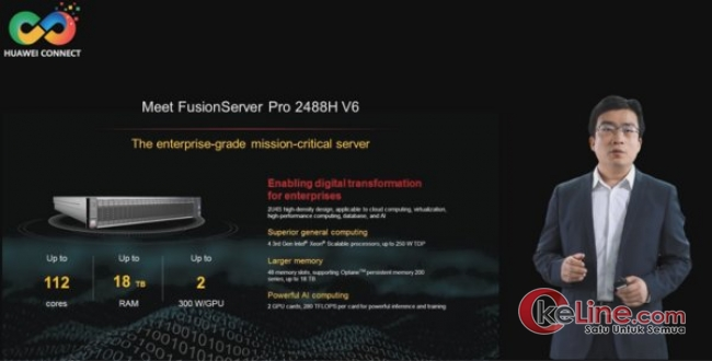 Huawei Luncurkan Server FusionServer Pro V6 Intelligent