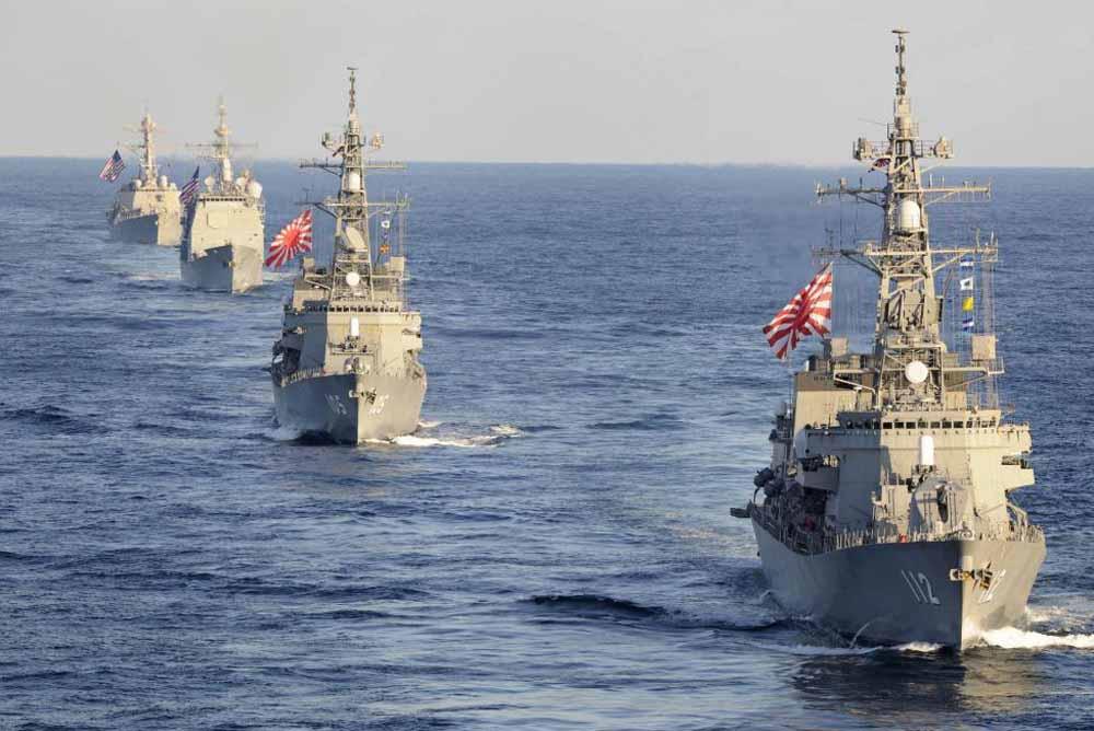 Kapal Selam China Diusir Tentara Jepang Karena Terobos Wilayah
