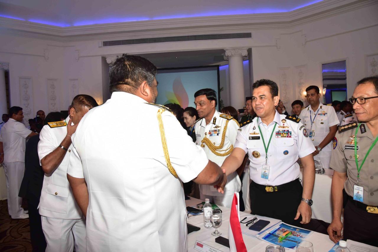 Bakamla RI / IDNCG Hadiri HLM untuk HACGAM ke-15 di Kolombo