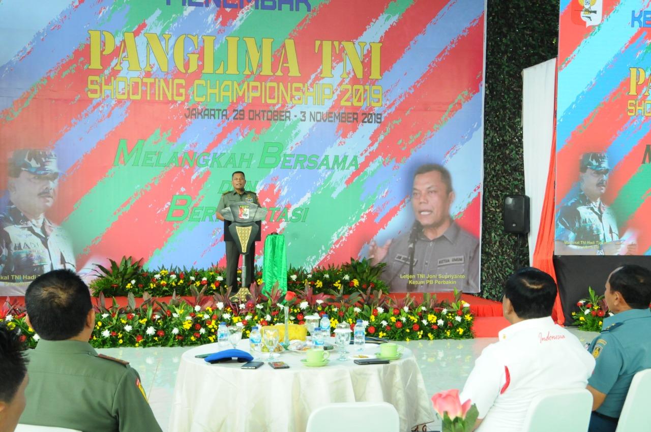 Sebanyak 1.200 Atlet Menembak Ikuti Kejurnas Piala Panglima TNI