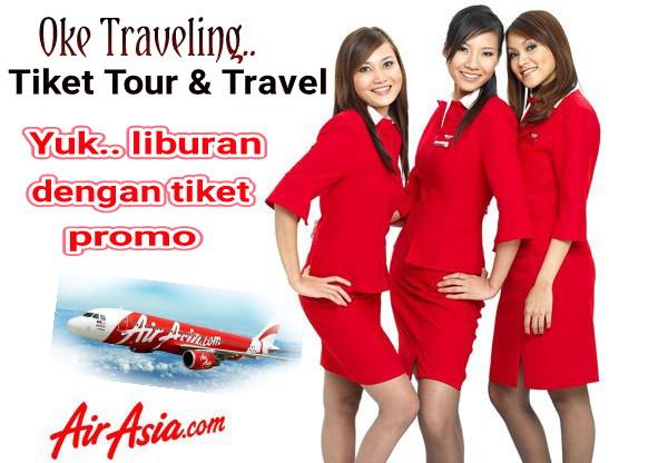 Oke Traveling Tawarkan Liburan Murah Bersama Air Asia