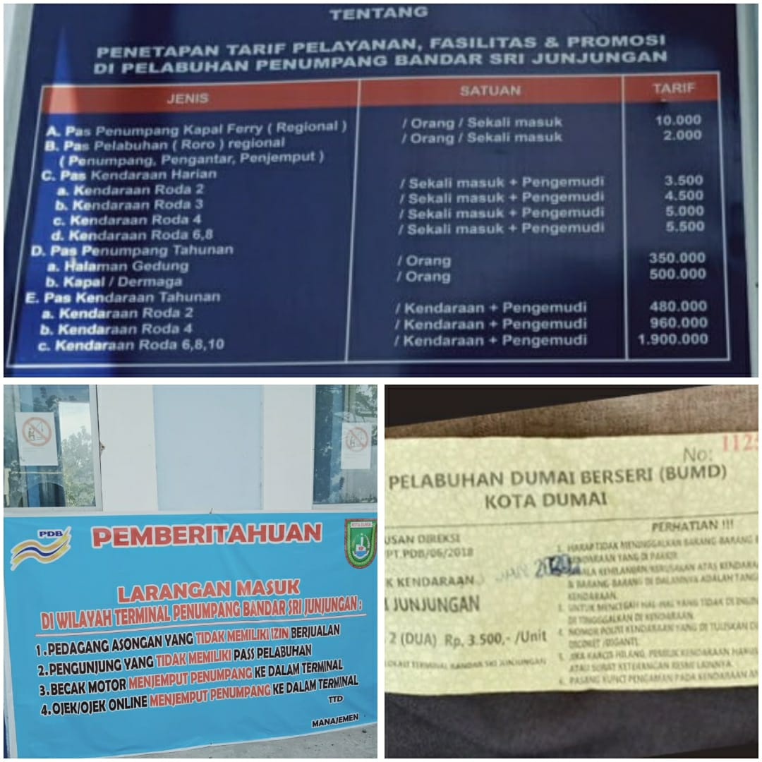 Pengacara Senior Aziun Ashari, Menilai Pungutan Uang Masuk PT Pelabuhan Dumai Menyalahi Prosedur