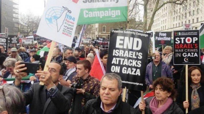 Warga Yahudi di London Kecam Pembunuhan Warga Palestina