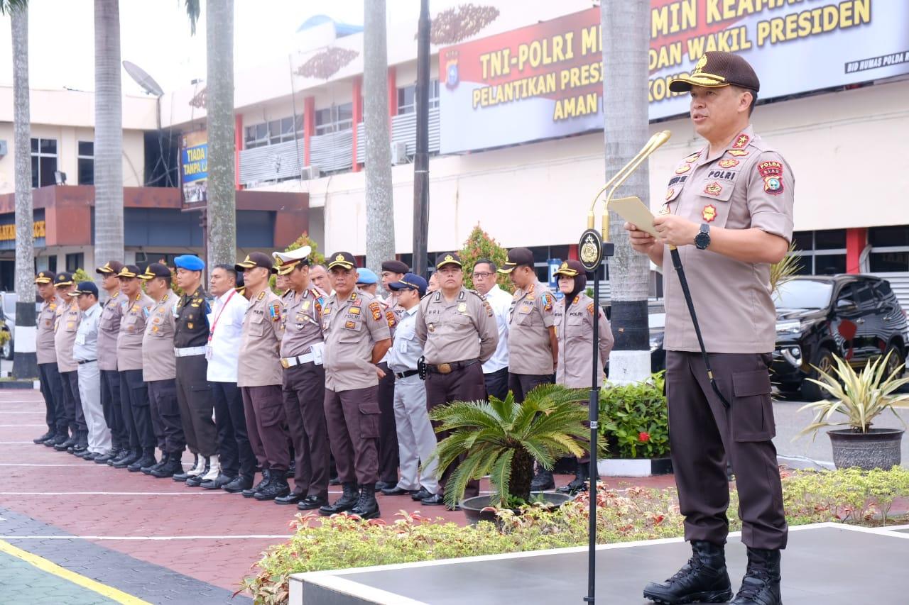Operasi Zebra Muara Takus Libatkan 320 Personil Kepolisian dan Berikut Poin-poinnya