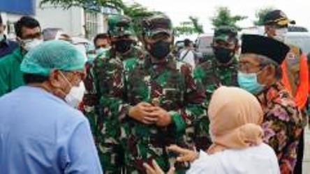 Utus Panglima TNI Ke Mamuju, Jokowi Bantu 10.000 Paket Sembako