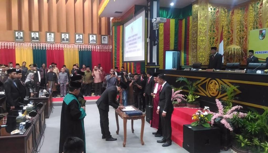 Ginda Burnama Diberi Amanah Menjadi Wakil Ketua DPRD Kota Pekanbaru