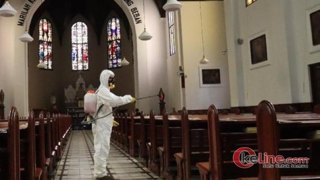 Cegah Meluasnya Virus Corona, Gereja se Solo Adakan Ibadah Online