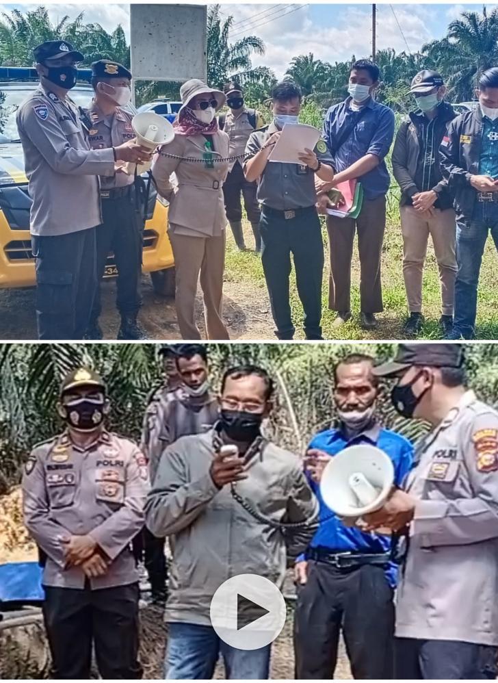 KTJA Keberatan, PN Rohil Sita Eksekusi 310 Hektar Lahan Sawit Diatas Dua Objek Perkara Berbeda