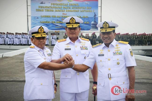 Laksamana Pertama TNI Abdul Rasyid Resmi Jadi Danlantamal I Belawan