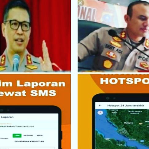 Cegah Karhutla, Polda Riau Luncurkan Aplikasi Dashboard Lancang Kuning