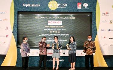 PT Mowilex Raih 3 Kategori Award Diajang Penghargaan CSR Terbesar di Indonesia