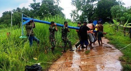 Puluhan Tahun Dalam Gelap, Kampung Toray di Merauke Kini Sudah Terang