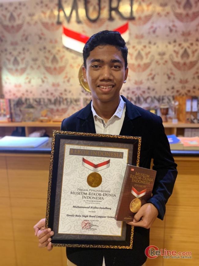 Putera Bangka Belitung Dapat Penghargaan Rekor MURI