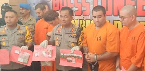 5 Warga Asing di Bali Jadi Pengedar Narkotika