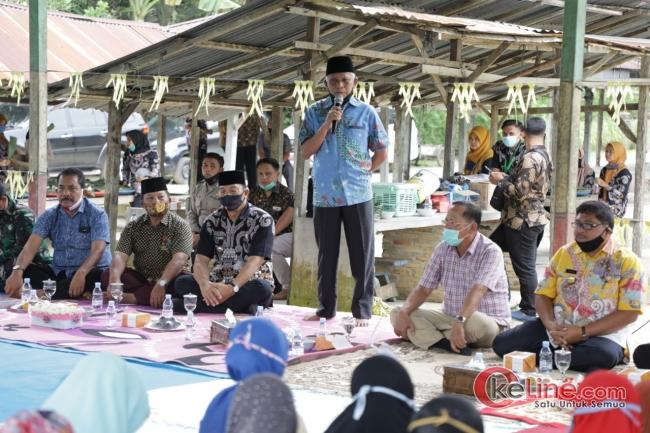 Bupati Asahan Silaturahmi di Kecamatan Aek Ledong