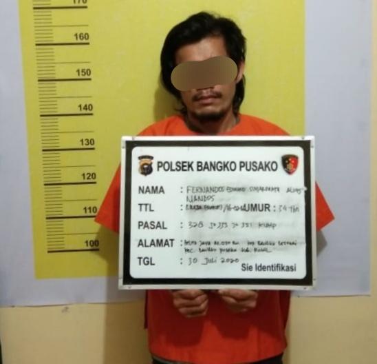 Otak Pelaku Penculikan di Rohil Ternyata Mantan Polisi
