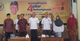 Ketua DPD I Partai Golkar Provinsi Riau, Arsyadjuliandi Pimpin Sosialisasi Penguatan Empat Pilar Keb