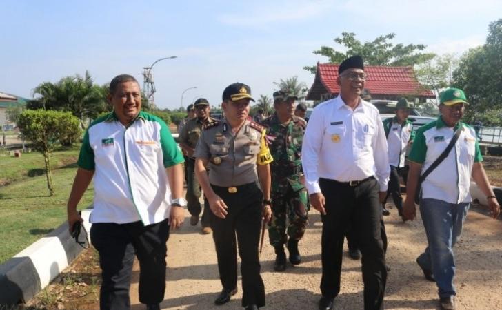 Pjs Bupati Rudyanto Hadiri Pertemuan Membahas Konflik Harimau
