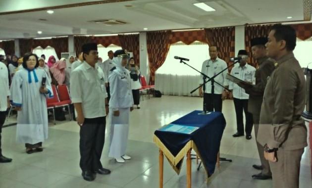 Pemko Pekanbaru Rotasi 228 Pejabat Eselon II, III dan IV