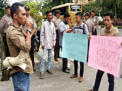 GMPP Desak Tangkap Bupati Pelalawan
