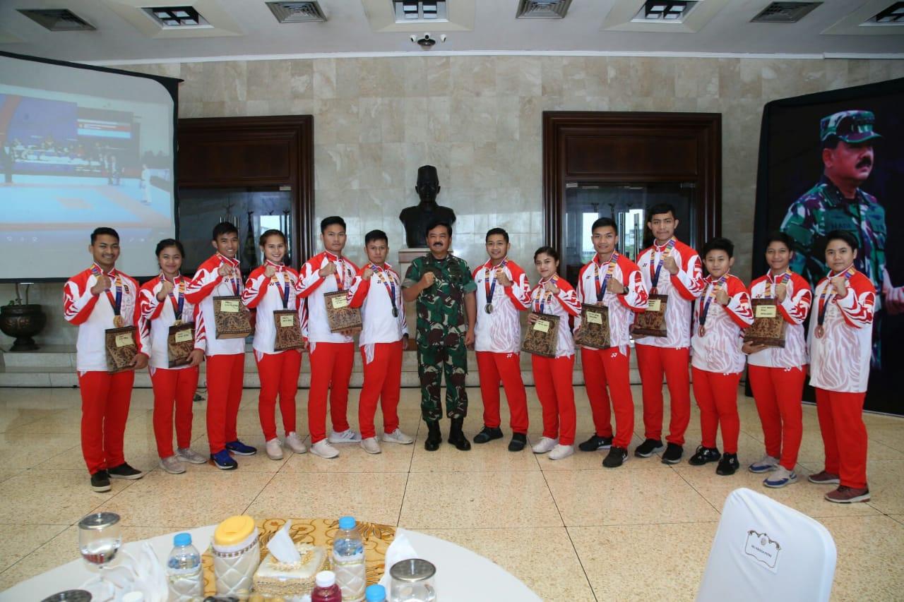 Panglima TNI: Bangga Atas Prestasi Yang Telah Di Raih Tim Karate Indonesia Pada Sea Games 2019