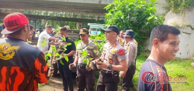 Satma Pemuda Pancasila Asahan Lakukan Penanaman Sejuta Pohon Di DAS Sei  Asahan