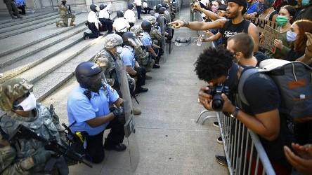 Amerika Memanas Setelah Kulit Hitam Kembali Ditembak Polisi di Atlanta