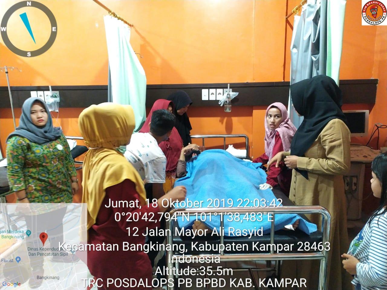 Lubang Drainase Bangkinang Kampar Riau Memakan Korban, Seorang Wanita Tewas Terperosok