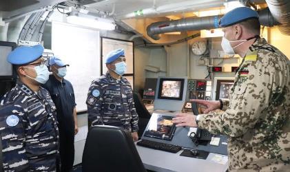 Baru Dilantik, Komandan MTF UNIFIL Lakukan Kunjungan Perdana