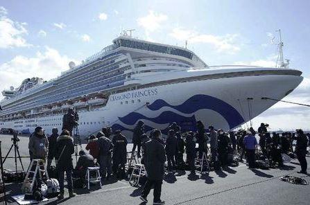 Kapal Pesiar Jepang Didalamnya 40 Warga AS Terinfeksi Virus CORONA
