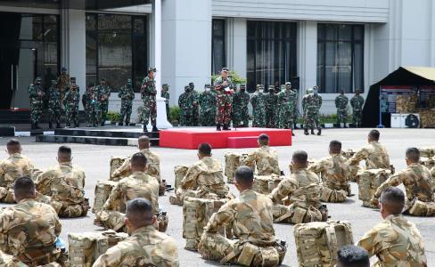 Kesiapan Operasi Satgas Kizi TNI Konga XXXVII G Minusca Car TA 2020 di Cek