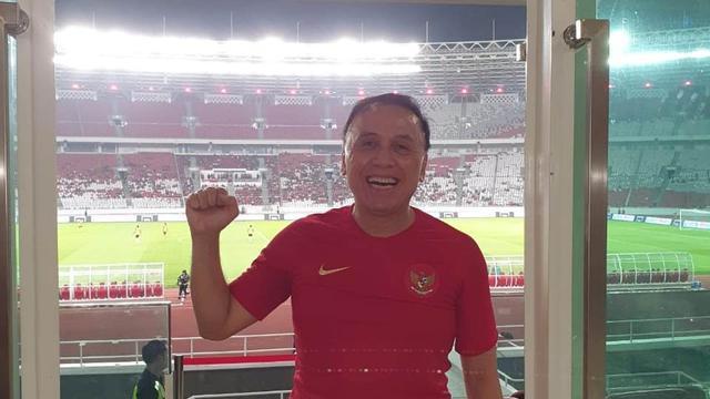 Ketum PSSI, Iwan Bule Pede Indonesia U22 Bisa Atasi Thailand