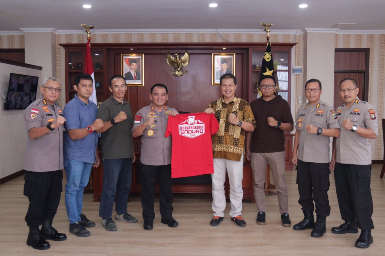 Polda Kepri Bersama Gravity Enduro Indonesia Akan Menggelar Bhayangkara Enduro 2019
