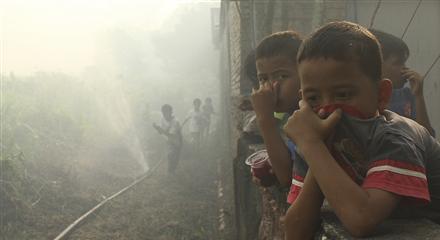 Asap Merajalela. Sebanyak 2.000 Masyarakat Pekanbaru Terserang Ispa