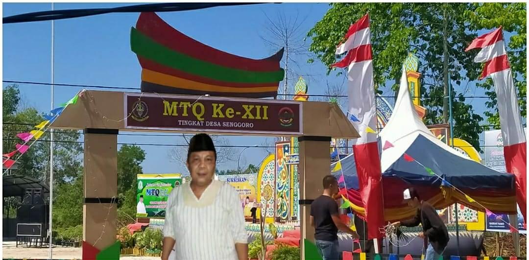 MTQ Ke-12 Tingkat Desa Senggoro, Kabupaten Bengkalis, Riau kembali digelar
