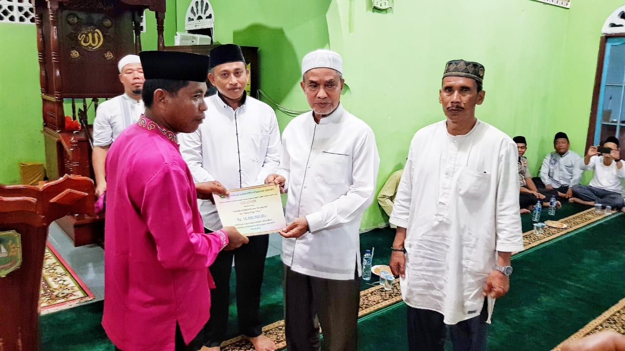 Wakil Bupati Silahturahmi Bersama Masyarakat Tebing Tinggi Timur