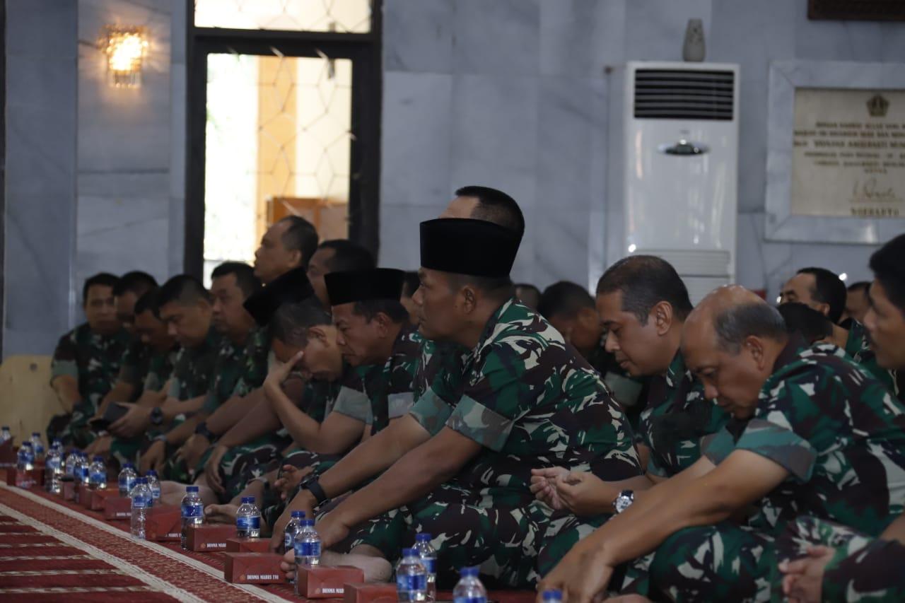Mabes TNI Gelar Acara Keagamaan Ceramah Rohani