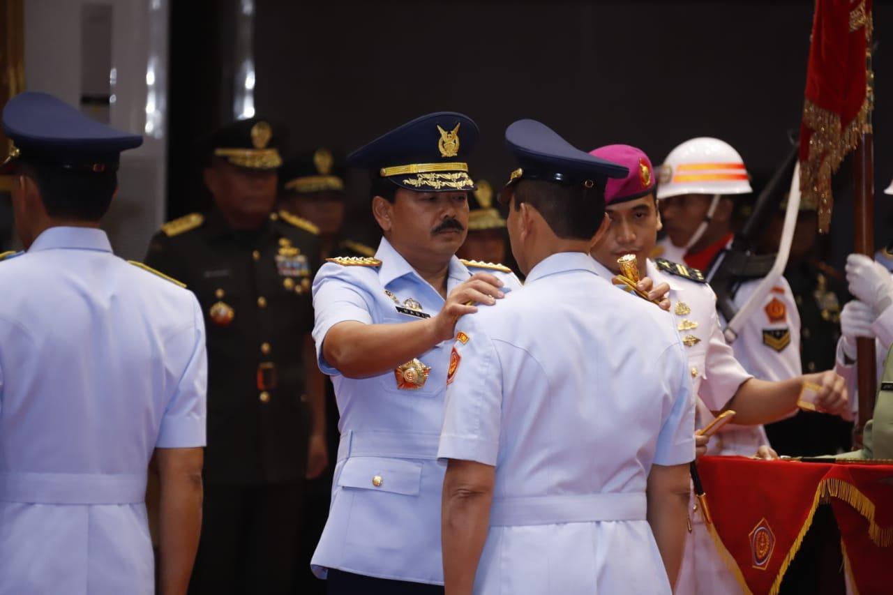 Panglima TNI Pimpin Sertijab Dansesko dan Aspers Panglima TNI