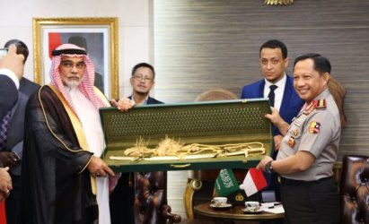 Langkah Kapolri Akan Laporkan Hadiah Raja Arab Diapresiasi KPK