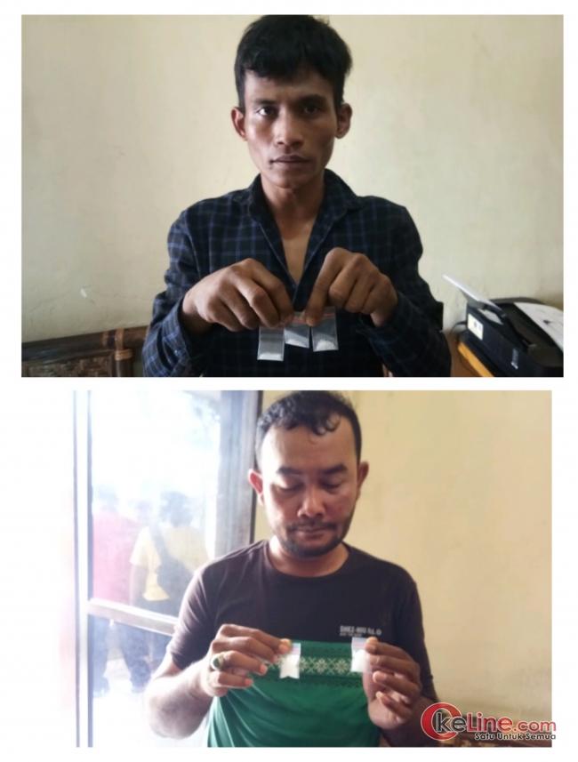 Mantap ! Intelkam Polres Asahan Tangkap 2 Bagundal Pengecer Sabu